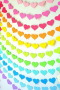 Colors Hearts For IPhone Wallpaper wallpapers