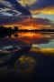Lake Sunset Reflection IPhone Wallpaper wallpapers