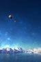 Blue Dream Balloon IPhone Wallpaper wallpapers