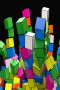 3D Cubes Rainbow IPhone Wallpaper wallpapers