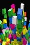 3D Cubes Rainbow IPhone Wallpaper wallpapers