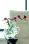 Gomphrena Flowers On Bowl IPhone Wallpaper wallpapers