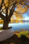 Waters Edge & Autumn IPhone Wallpaper wallpapers