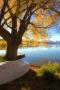 Waters Edge & Autumn IPhone Wallpaper wallpapers