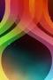 Rainbow Shine Hole IPhone Wallpaper wallpapers