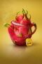 Abstract Fruit Tea IPhone Wallpaper wallpapers