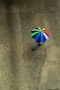 Rainbow Umbrella Over View IPhone Wallpaper wallpapers