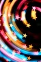 Star Dizzy Colors 3D IPhone Wallpaper wallpapers