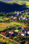 Beautiful Village Tilt Shift Android Wallpaper wallpapers