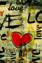 Love In Graffiti Art IPhone Wallpaper wallpapers