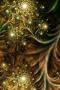 Golden Abstract Wild Pattern IPhone Wallpaper wallpapers