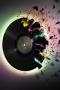 Music Explosive Viny IPhone Wallpaper wallpapers