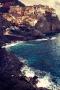 Sea Mountain Manarola IPhone Wallpaper wallpapers