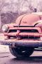 Pink Old Frozen Car IPhone Wallpaper wallpapers