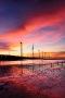Orange Seaside Windmill IPhone Wallpaper wallpapers