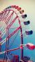 City Ferris Wheel IPhone Wallpaper wallpapers