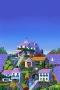 Beautiful Purple Houses IPhone Wallpaper wallpapers