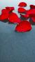 Red Flower Petal Art IPhone Wallpaper wallpapers