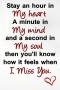My Heart & Miss You IPhone Wallpaper wallpapers