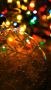 Christmas Colors Balls Lights IPhone Wallpaper wallpapers