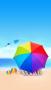 Beac Rainbow Umbrella IPhone Wallpaper wallpapers