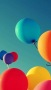 Holiday Colors Balloon IPhone Wallpaper wallpapers