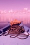 Boat Pink Nature IPhone Wallpaper wallpapers