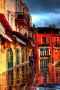 Silent City Colorful Houses wallpapers
