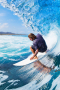 Surfing Wave Sea Ocean IPhone Wallpaper wallpapers