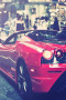 Street Luxury Modern Red Car IPhone Wallpaper wallpapers