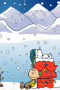 Snoopy Christmas Santa Sleep IPhone Wallpaper wallpapers