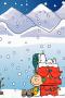 Snoopy Christmas Santa Sleep IPhone Wallpaper wallpapers