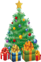 Christmas Tree & Gifts IPhone Wallpaper wallpapers