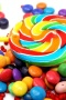 Sweets Colors Sugar Candies IPhone Wallpaper wallpapers