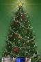 Christmas Tree And Gift Santa IPhone wallpapers