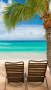 Paradise Beaches Chair IPhone Wallpaper wallpapers