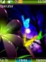Neon Butterfly Free Mobile Themes