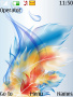Abstract Feathers Theme themes