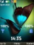 Butterfly Clock Theme themes