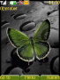 Green Butterfly Theme themes