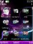 Animated Purple Light Theme themes