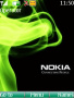 Nokia Green Smoke Theme themes