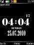 Black Shine Clock themes
