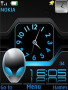 Blue Dual Clock themes