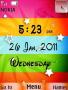 Color Design Clock themes