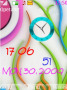 Colored Clock themes