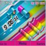 Rainbow Flip Clock themes
