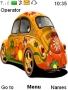 Colorful Flower Car themes