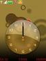 Bronze Clock Free Mobile Themes