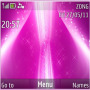 Violet Pink Stars themes